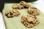 Zucchini Chocolate Chip Oatmeal Cookies