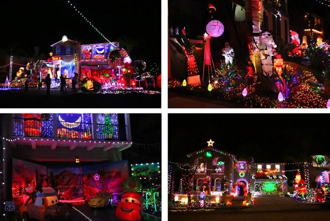 Chula Vista Christmas Circle Lights