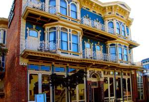 Visit the Horton Grand Hotel, one of San Diego's oldest and most historic hotels, rumored to be haunted and located in the Gaslamp District.