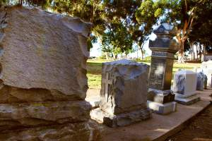 Visit one of San Diego's most haunted spots. Once used as a cemetery for early pioneers has now been turned into a park!