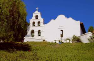 Visit the San Diego Mission Basilica de Alcala, San Diego's oldest mission, founded in 1769