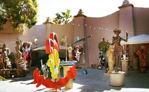 Spanish Village in Balboa Park is San Diego's coveted secret for art lovers. Visit artist studios and gawk at the beauty surrounding you!