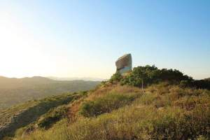 Hike to Tooth Rock, a boulder resembling a giant tooth in Poway!
