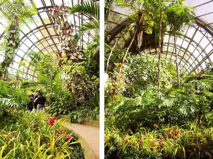 The Balboa Botanical building in Balboa Park is a beautiful and free place to visit.