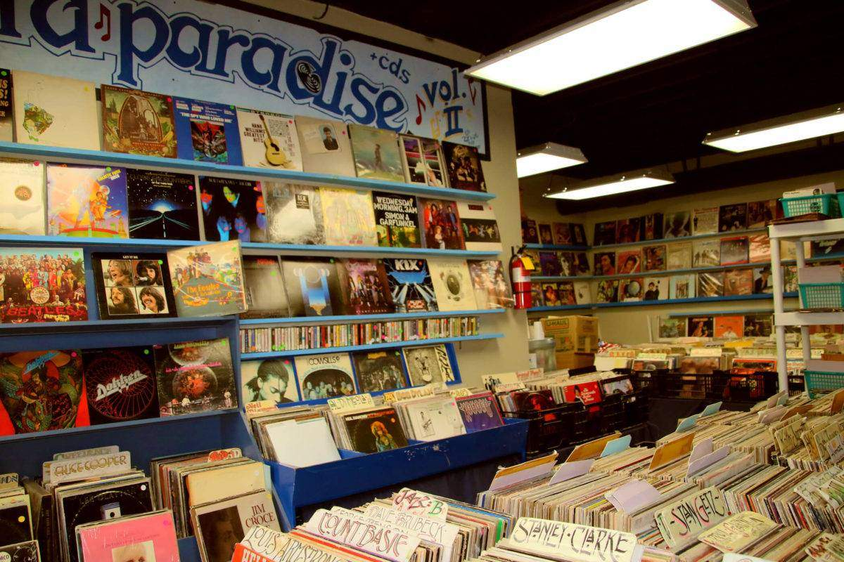 Gary's Record Paradise Vol. II in Escondido is San Diego's most psychedelic record shop!
