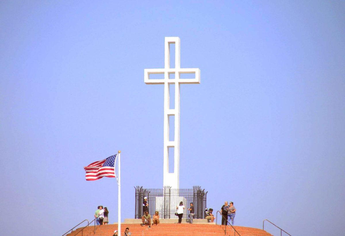 Grab one of San Diego's most beautiful views atop the luxurious Mount Soledad in La Jolla, California!
