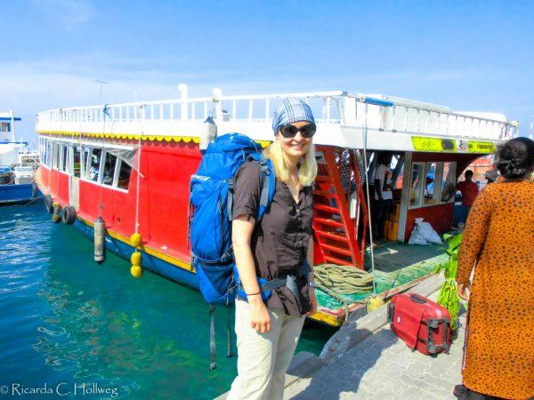 Fähre nach Maafushi