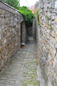 Alte Mauern von Piran