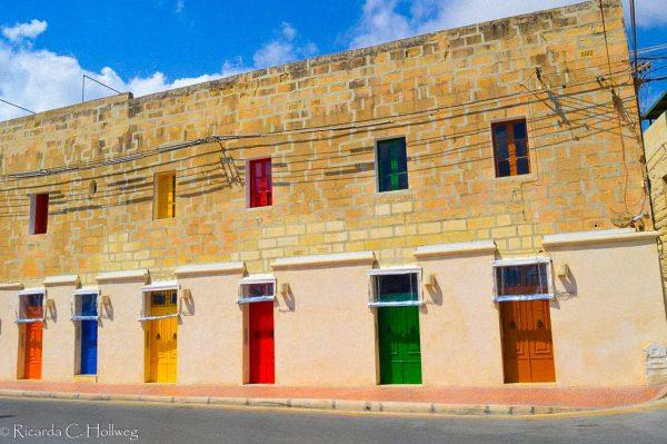 Bunte Türen in Marsaxklokk