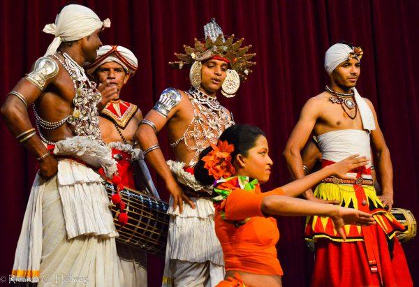 Kulturelles Event in Kandy