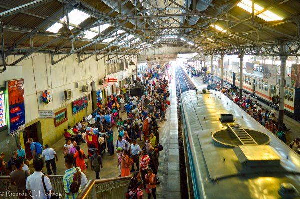 Bahnhof in Colombo