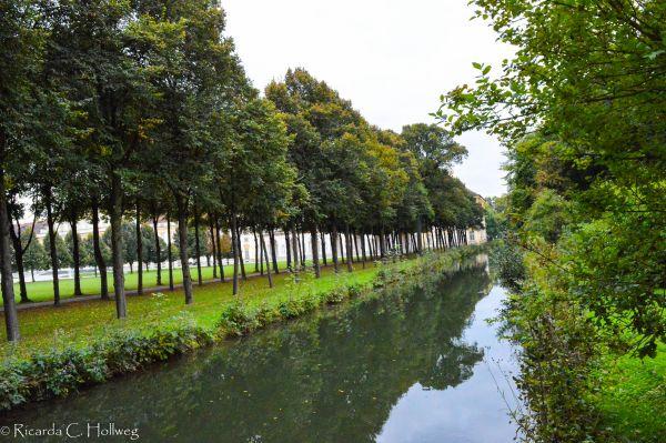 Kanal im Schlosspark