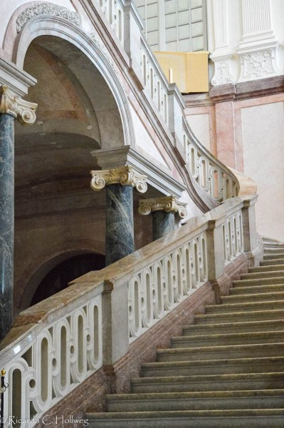 Treppe im Schloss