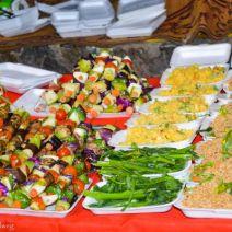 Vegetarisches Essen Nachtmarkt