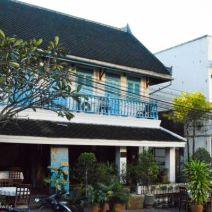 Haus in Luang Prabang im kolonialen Stil