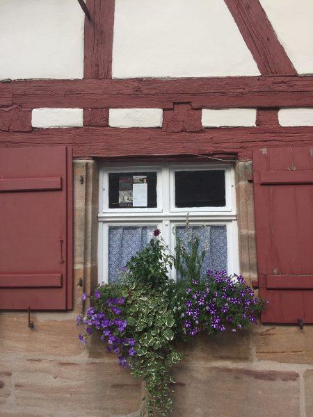 Fenster Fachwerkhaus Cadolzburg