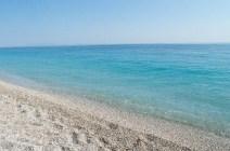 Klares Wasser in Dhermi Albanien