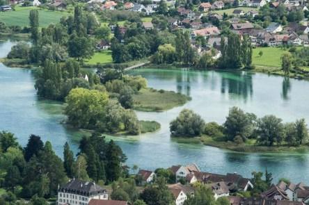 Flussblick bei Stein am Rhein