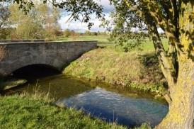 Brücke beim Hüllgraben München