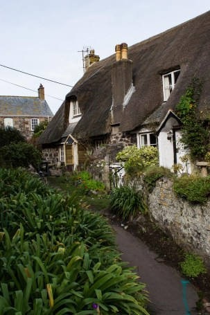 Cottagereihe Cadgwith