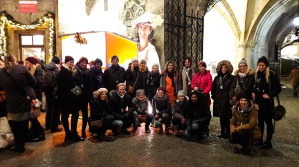 Mit anderen Bloggern und Instagrammern auf dem Münchner Christkindlmarkt