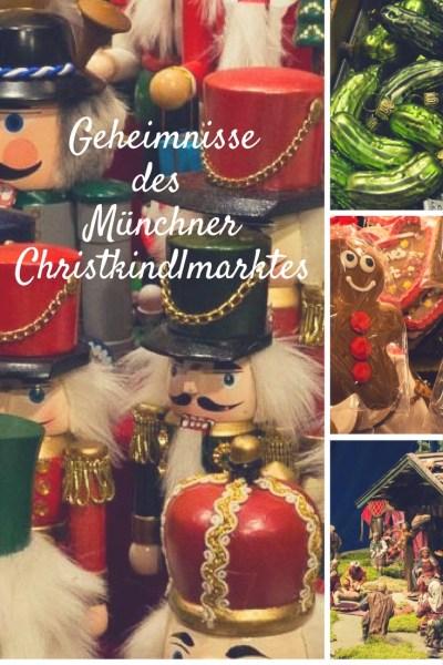 Pinterest Pin Münchner Christkindlmarkt