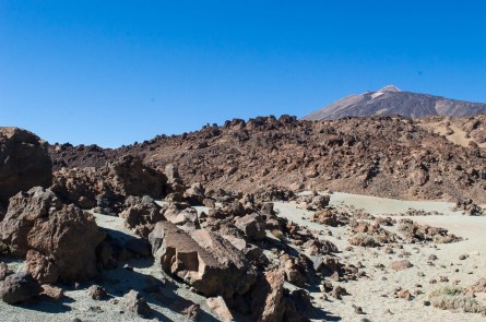 Lava im Teide-Nationalpark