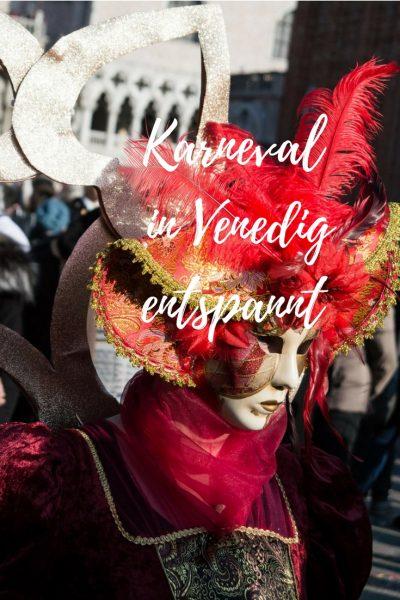 Venedig entspannt im Winter und Karneval