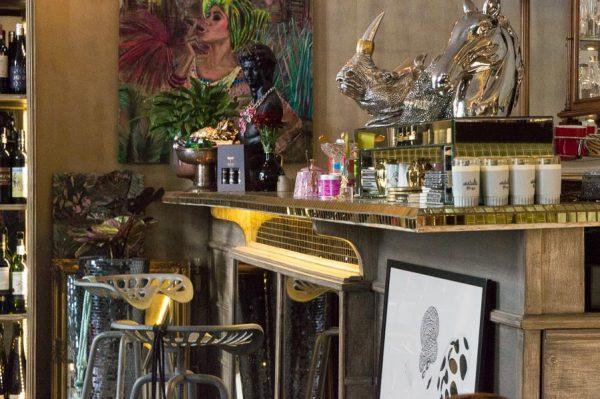 Jugendstil in Café in Riga