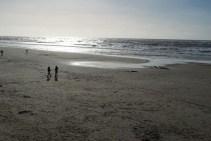 Abend am Strand von Texel