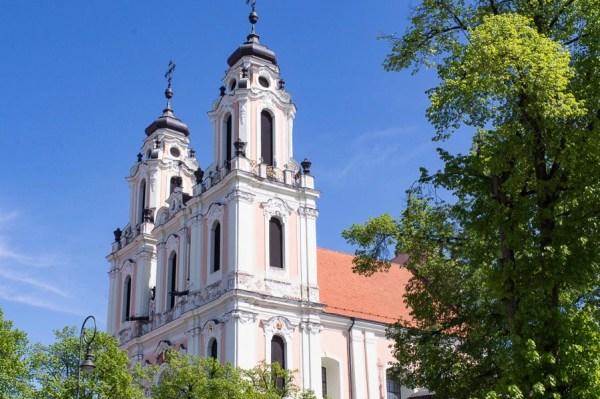 Kirche in Vilnius