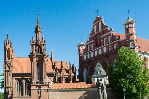 St. Annen Kirche in Vilnius