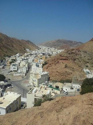 Typischer Blick in Muskat Oman