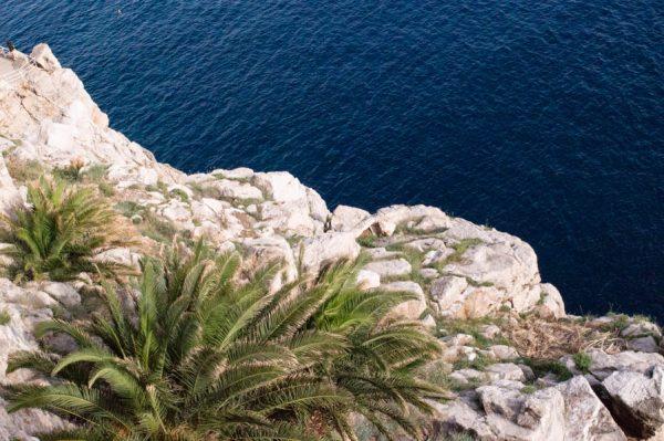 Tiefblaues Meer in Dubrovnik