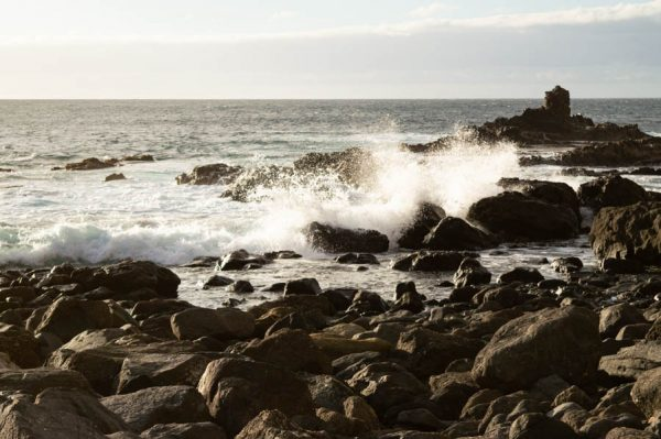 Tosendes Meer auf La Gomera