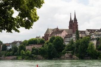 Blick auf Grossbasel mit Münster