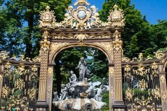 Goldenes Tor am Place Stanislas Nancy