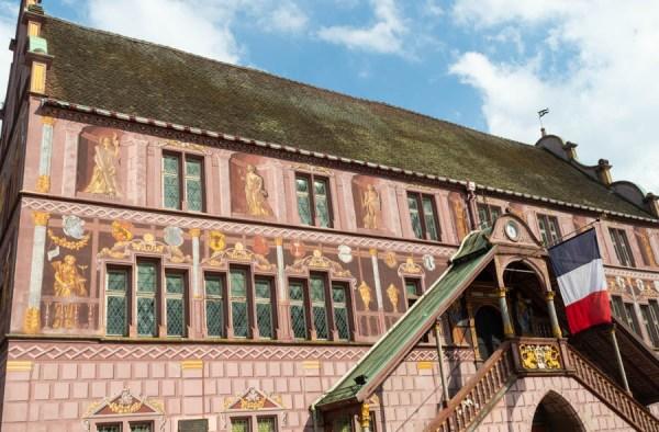 Rathaus von Mühlhausen