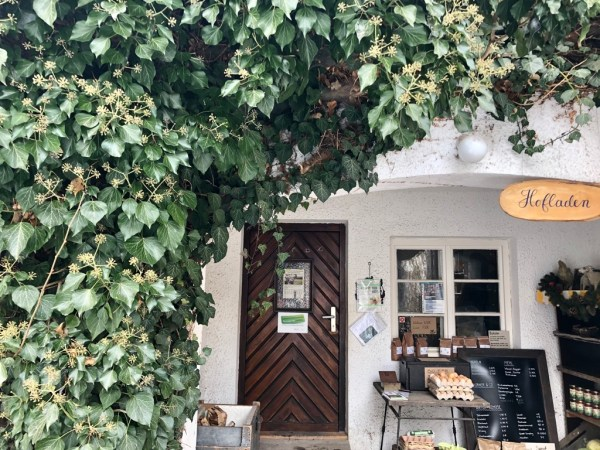 Outdoor-Hofladen vom Billesbergerhof