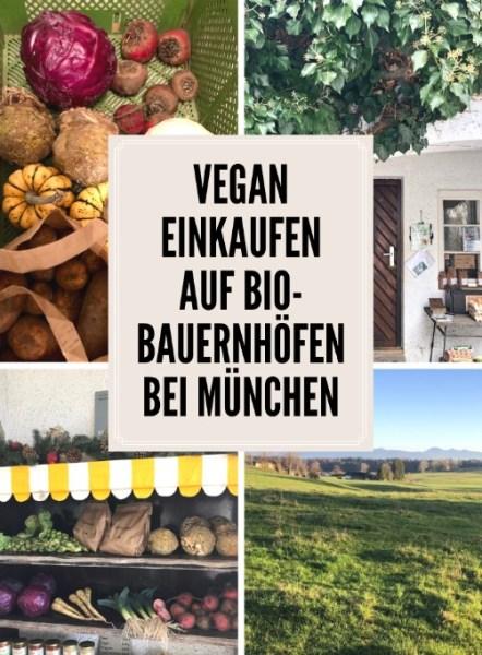 Vegan und nachhaltig einkaufen in Bio-Hofläden bei München