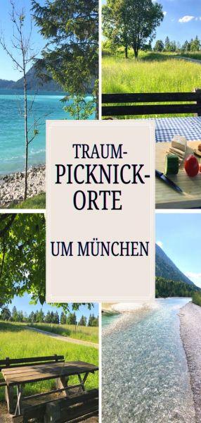 Fantastische Picknickplätze nahe München