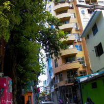 Colorful city Malé