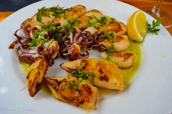 Seafood in Piran