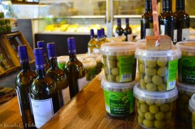 Wine and Olives at the Viktualienmarkt