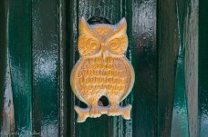 owl doorknob in Valletta