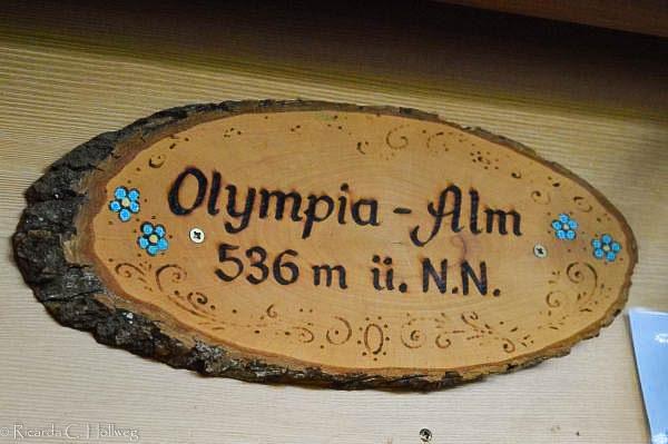 Elevation data Olympiaalm Munich