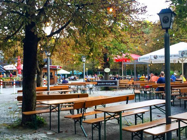 Hopfengarten beergarden Munich