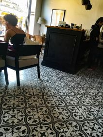 Renovated Floor Tiles
