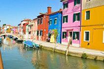 Multicolored Burano Island