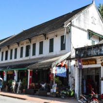 Shophouses in the Town Cent